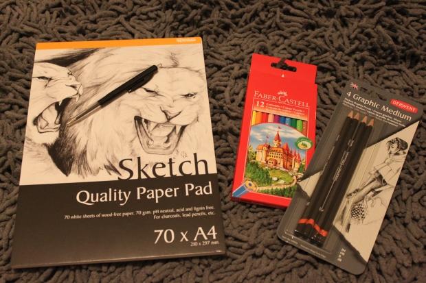 sketch supplies